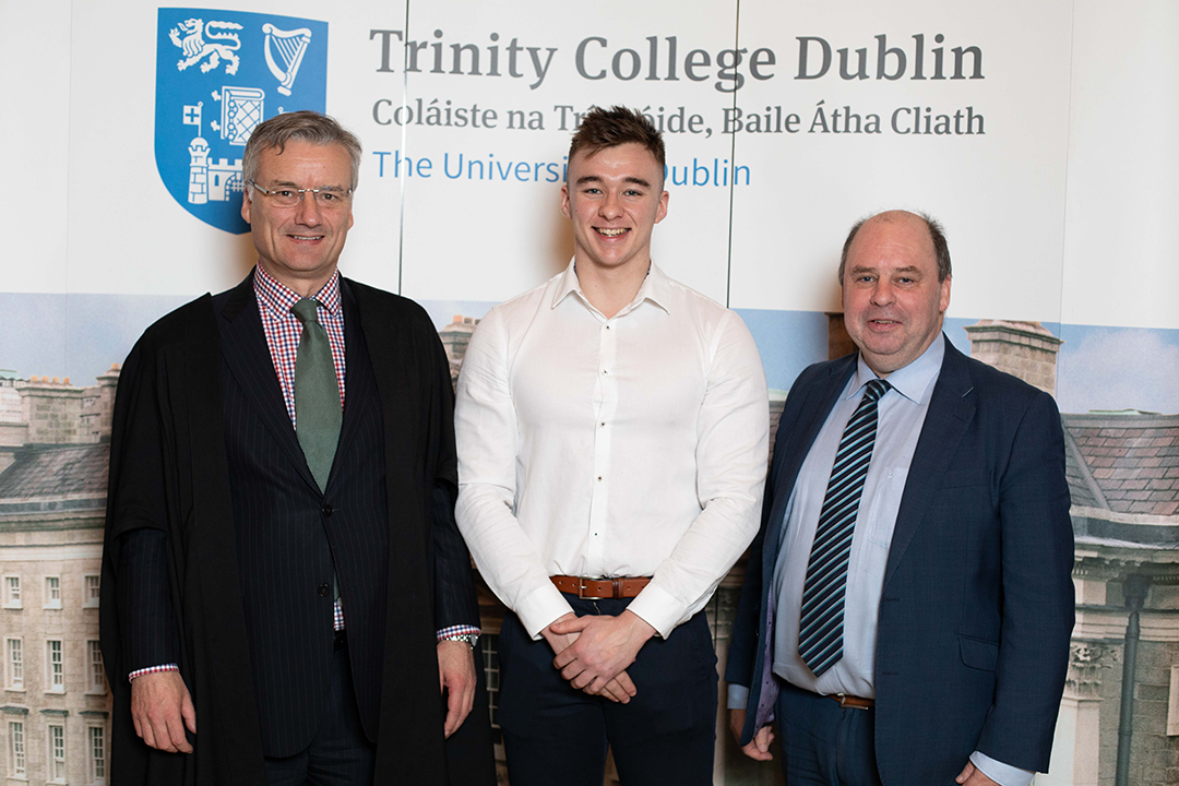 Former Coláiste Oiriall Student receives Trinity Entrance Exhibition Award