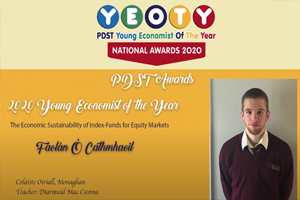 overall Young Economist of the Year