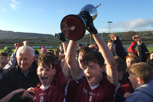 Coláiste Oiriall Under 14 ½ team wins Ennis Cup
